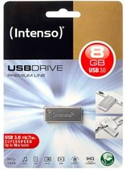 INTENSO USB DRIVE 3.0 8GB BLK 3534460 35MB/s USB 3.0 silver