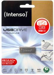 INTENSO USB DRIVE 3.0 64GB BLK 3534490 35MB/s USB 3.0 black