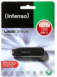 INTENSO USB DRIVE 3.0 128GB BK 3533491 70MB/s USB 3.0 black
