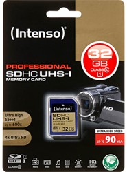 INTENSO SDHC CARD UHS-I 32GB 3431480 90MB/s class 10