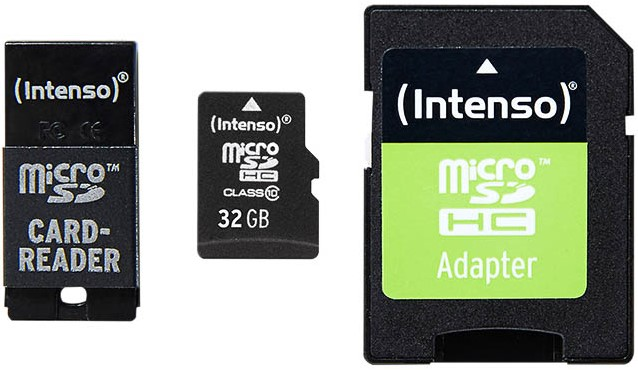 Micro Sd Karte 32gb.Intenso Micro Sd Karte 32gb 3413780 Class 10 Sd Usb Adapter 21mb S