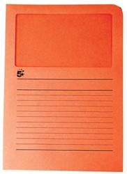 A4 (22x31 cm) Uit karton van 120 g/m2                    Oranje
