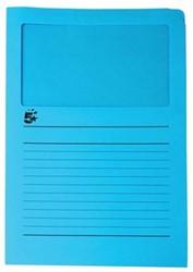 A4 (22x31 cm) Uit karton van 120 g/m2                    Lichtblauw