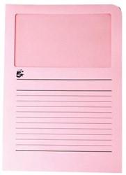 A4 (22x31 cm) Uit karton van 120 g/m2                    Roze