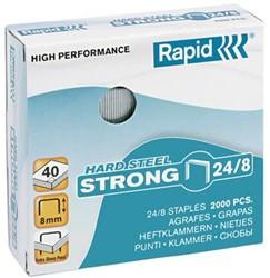 Nietjes 24/8 Rapid Strong staal ds/2000