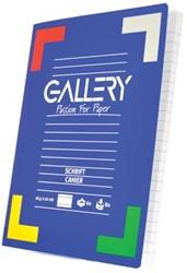 Gallery schriften 120 bladzijden, gelijnd