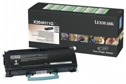 Lexmark 264H11G return program toner zwart 9000 afdrukken