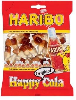 Haribo Snoep cola flesjes