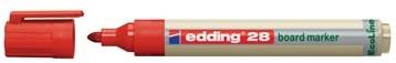 Whiteboard markers Edding Ecoline e-28 rood
