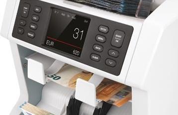 Safescan biljettelmachine 2985-SX, met 7-voudige valsgelddetectie