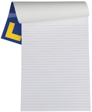 Onwijs Gallery schrijfblok A4 gelinieerd 100 vel bij Pro Office KA-15