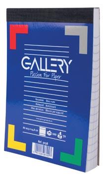 Gallery schrijfblok A6 gelinieerd 100 vel-2