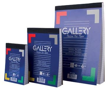 Gallery schrijfblok A6 gelinieerd 100 vel-1