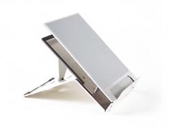 BNEQ260 BAKKER NOTEBOOK STAND Ergo-Q 260 5settings silver aluminium