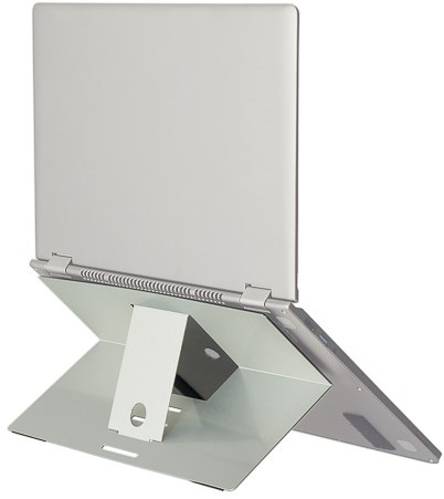 R-GO RISER ATTACHABLE LAPTOP STAND laptop stand 5kg silver