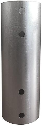 Koppelstuk voor verlengbuizen van monitor arm
