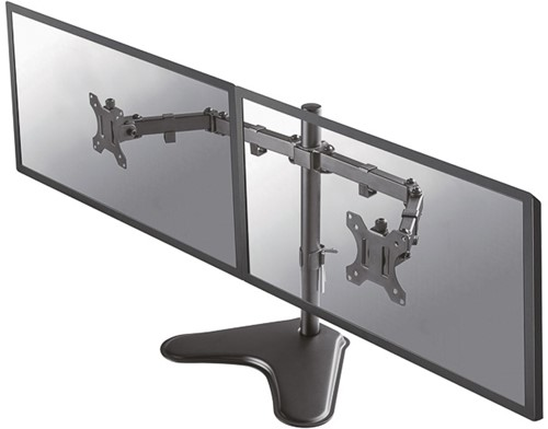 Monitor arm voor 2 schermen op voet FPMA-D550DD BLACK