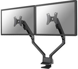 Dubbele monitor arm gasveer