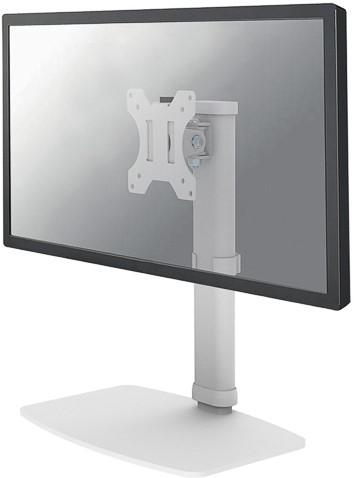 NEWSTAR FLAT SCREEN DESK MOUNT WHITE single 10-30 white