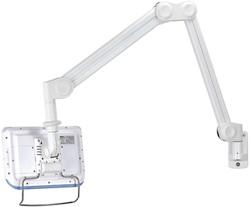 Medische monitor arm muurbeugel