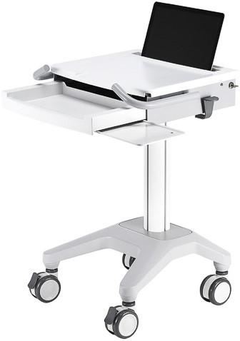 NEWSTAR LAPTOP kar wit voor laptops tot 17,3 inch MED-M200 10-17 5kg