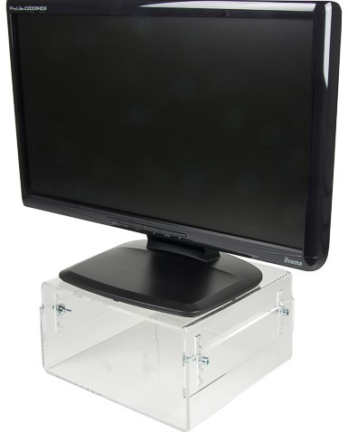 NSMONITOR40 NEOMOUNTS LCD/CRT monitor stand 25kg transparent