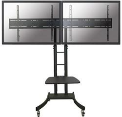 NEWSTAR FLAT SCREEN FLOOR STAND BLACK PLASMA-M2000ED dual 125kg