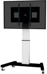 NEWSTAR FLAT SCREEN FLOOR STAND SILVER PLASMA-M2500SILVER 42-100 150kg