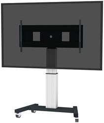NEWSTAR FLAT SCREEN FLOOR STAND SILVER PLASMA-M2500SILVERMS 60-100 150kg