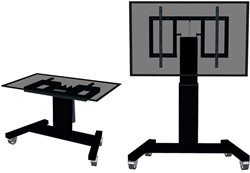 NEWSTAR FLAT SCREEN FLOOR STAND BLACK PLASMA-M2500TBLACK 42-100 150kg