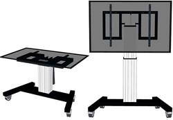 NEWSTAR FLAT SCREEN FLOOR STAND SILVER PLASMA-M2500TSILVER 42-100 150kg