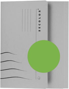 Pocketmap folio groen