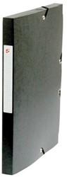 5Star Elastobox rug 2,5 cm zwart