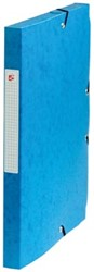 5Star Elastobox rug 2,5 cm blauw
