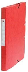 5Star Elastobox rug 2,5 cm rood