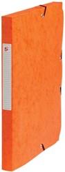 5Star Elastobox rug 2,5 cm oranje