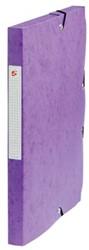 5Star Elastobox rug 2,5 cm paars