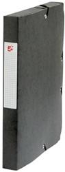 5Star Elastobox rug 4 cm zwart