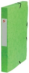 5Star Elastobox rug 4 cm groen