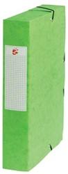 5Star Elastobox rug 6 cm groen