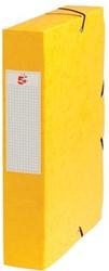 5Star Elastobox rug 6 cm geel