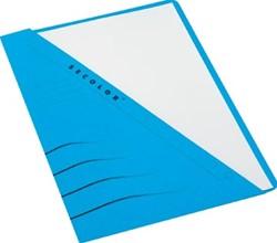 Jalema insteekmap karton Secolor blauw 10 stuks
