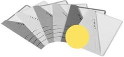 Jalema insteekmap karton Secolor geel 10 stuks
