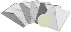 Jalema insteekmap karton Secolor grijs 10 stuks