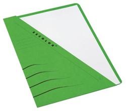 Jalema insteekmap karton Secolor groen 10 stuks