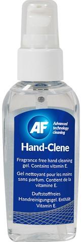 AHSG050 AF HANDCLENE HAND CLEANING GEL 50ml pump bottle odorless flammable