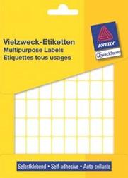 AVERY witte etiketten 18x12mm