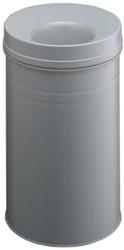 Durable afvalbak Safe+, 15 liter, metaal