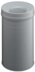 Durable Asbak Safe inhoud: 30 l, hoogte: 510 mm, diame   ter: 315 mm, grijs