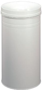 Durable afvalbak Safe+, 60 liter metaal lichtgrijs